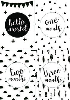 手作りロゼットで赤ちゃんの記念撮影♪月齢カード無料配布【動画】 / バースデー ハーフバースデー ファーストバースデー / PARTY | ARCH DAYS