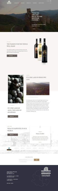 Terra DAligi (More web design inspiration at topdesigninspiration.com) #design #web #webdesign #sitedesign #responsive #ux #ui