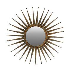Golden Mirror, Sun Mirror, Sunburst Mirror, Round Wall Mirror, Wall Mounted Mirror, Mirror Set, Floor Mirror, Round Mirrors, Mirror Ideas