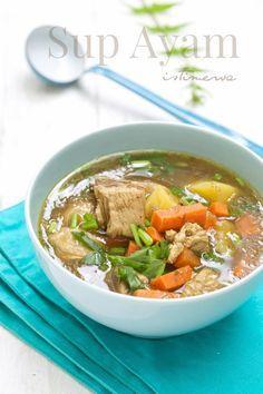 masam manis: Sup Ayam Istimewa
