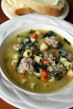 Italian Wedding soup. This is my fav and I hate the new cambells version. Might need to just make myself.