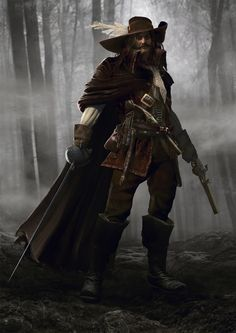 Mythic Games, Inc. is raising funds for Solomon Kane on Kickstarter! Play as a Virtue guiding Solomon Kane in a player co-op game of storytelling, resource management & tactical miniatures play. Fantasy Warrior, Fantasy Rpg, Dark Fantasy Art, Fantasy Artwork, Fantasy Character Design, Character Inspiration, Character Art, Dnd Characters, Fantasy Characters
