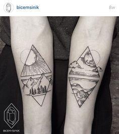 bicemsinik nature tattoo