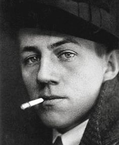 Franz Hessel, c. 1910 - Photograph by Grete Back (German, Smoke Art, Che Guevara, Berlin, Memories, People, Writers, Stark, Smoking, Editorial