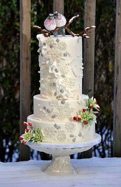 Zorica Cake Art : Winter Weddings on Pinterest Winter Wedding Ideas ...