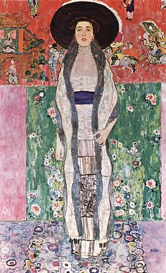 """19th Most Expensive Painting Ever Sold: Gustav Klimt's """"Portrait of Adele Bloch-Bauer II"""" (1912) Sold for 102.1 million : Fine Art Print"""