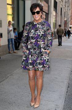 Kris Jenner Photos: Kris Jenner Poses in NYC