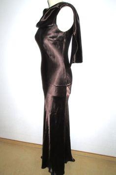 * * * CHOISE by DANWEAR Kleid bodenlang braun, Gr.36 * * *