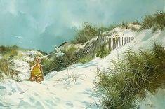 Carolyn Blish - at the beach