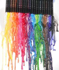 wax crayons painting :)