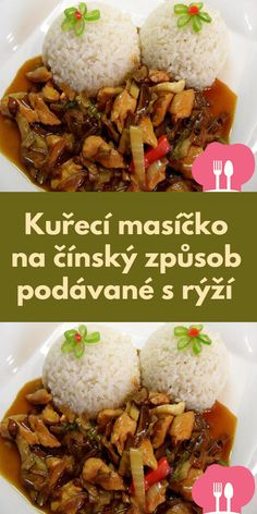 Czech Recipes, Food Platters, International Recipes, Chicken Recipes, Good Food, Food And Drink, Menu, Cooking Recipes, Lunch