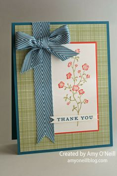 A Sparkly Flower Stem  Posted on June 24, 2013 by amyoneillblog - Morning Meadow stamp set