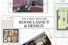 The 7 Best Apps For Planning a Room Layout & Design (Apartment Therapy Main) Room Layout Design, Small Room Design, Family Room Design, Room Layout App, Living Room Furniture Layout, Living Room Designs, Bedroom Furniture, Floor Plan App, Floor Plans