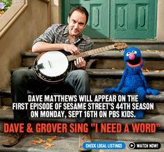 Dave on Sesame Street!