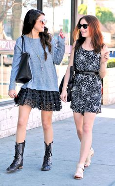 Selena and Lily <3