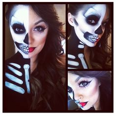 #halloween #makeup #ideas #makeuparist #halloweenmakeup #mua #costumemakeup #costume #dressup #fancydress #skull #skullmakeup #scary #scarymakeup