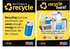 Recycling Posters - downloadable printable - from Australia! Includes ...