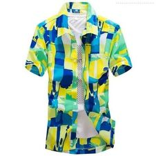 Men's Hawaii Beach Shirt