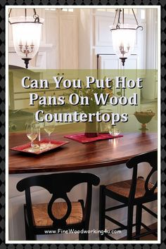 Looking To Install Some Countertops Into Your Home With a More Natural Touch? You Can Read Our DIY Wood Countertops Guide Here. #woodcountertops Diy Wood Countertops, Woodworking Projects, Touch, How To Plan, Natural, Home, Ad Home, Homes, Woodworking Crafts