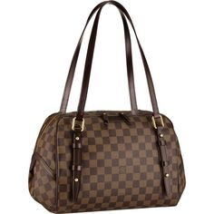 $229.14 Damier Ebene Canvas Rivington GM N41158 just bought, can't wait to wear these!