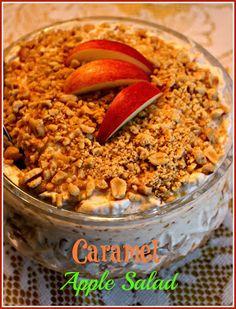 Sweet Tea and Cornbread: Caramel Apple Salad!