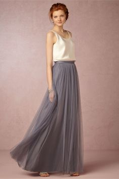 Admirable Tulle Long Dresses – Designers Outfits Collection