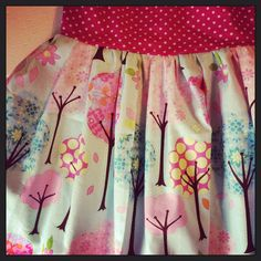 New twirly skirt, available from Minnie and Clarence