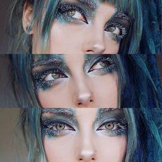✨ Incredible and magical makeup inspo via the talented midudrne felvae! ✨ ✨ Incredible and magical makeup inspo via the talented midudrne felvae! Makeup Inspo, Makeup Art, Makeup Eyeshadow, Makeup Ideas, Eyeshadow Base, Eyeshadow Brushes, Makeup Geek, Makeup Brushes, Beauty Make-up