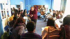 Fundación Cristina Heeren. Clase de cante flamenco con el maestro Jeromo...