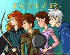 The Big Four. From DeviantART. Totally EPIC!!! XD