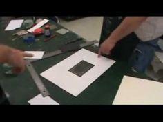 Linocut #3 - Making a Registration Board