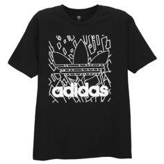 adidas Originals Graphic T-Shirt - Men's - Black/White