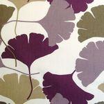 Ginko - Damson Maidenhair Tree, Prestigious Textiles, Fabric Wallpaper, Reggio, Hgtv, Fossils, Moose Art, Fabrics, Trees