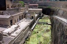 Herculaneum, Old waterfront