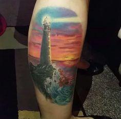 Lighthouse Tattoo Design by Tibor Szalai Tibi