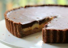 Chocolate Mint Ganache Tart, Decadent, Divine and Delicious!