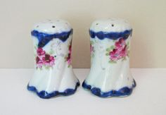 Salt and pepper shakers ca 1935...I have a chocolate pot in this design!!!