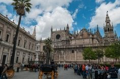 Seville Cathedral by Michal Osmenda