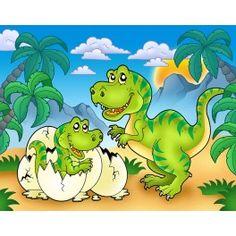 Papier peint Dinosaure 1