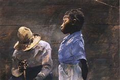 Andrew Wyeth Watercolor Paintings | the exhibition are oil paintings major tempera paintings watercolors ...