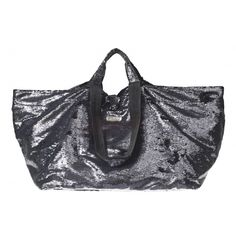 BRASI & BRASI Brasi & Brasi Tasche  Pailetten Anthra/Black Half & Fancy