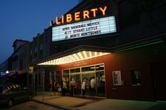 The 1930s movie theater, Liberty Hall in Downtown Tyler, TX, has been renovated to show old classic movies and live performances of music, comedy, improv, an East Texas Film Festival and much more