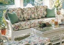 South Sea Rattan U0026 Wicker Furniture 1403 Bermuda Sofa   Big One
