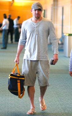 SPOTTED: Channing Tatum traveling in style with Brazil White