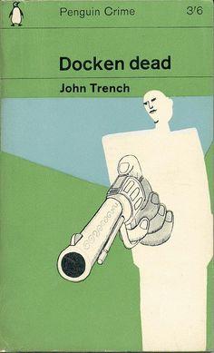 Docken Dead - Cover by Alan Aldridge, a Penguin reprint from Book Cover Art, Book Cover Design, Book Design, Book Art, Game Design, Web Design, Vintage Book Covers, Vintage Books, Antique Books
