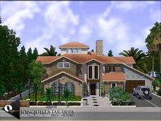 Jonquilla Jakarta home by Onyxium - Free Sims 3 Lots Downloads The Sims Resource - TSR Custom Content Caboodle - Best Sims3 Updates and Finds