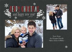 Persnickety Prints Double Sided Holiday Design