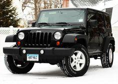 Black Jeep, White Snow.