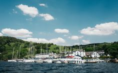 The Marina at Low Wood Bay Resort & Spa, Windermere, the Lake District.