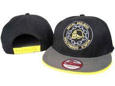 b7e4ca27111 Metal Mulisha Snapback Hats Caps Yellow Grey Black New Era Metal Mulisha